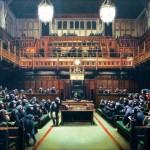 Parlamentul Britanic în şedinţă de lucru